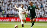 ريال مدريد ينهى الدوري الإسباني الكارثي بالخسارة 2/0 ضد بيتيس