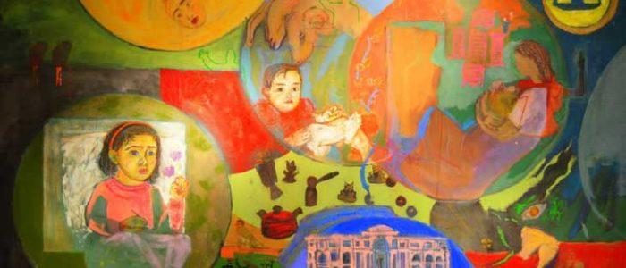 رسم الانطباع في لوحات التشكيلية المصرية
