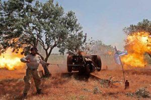 قوات المعارضة السورية تحرر مواقع استراتيجية وتجبر قوات النظام على الانسحاب