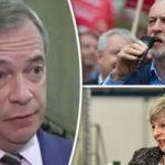 """استطلاع: الدعم لحزب """"بريكست"""" بانتخابات أوروبا أكثر من المحافظين والعمال معا"""