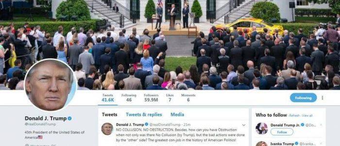 ترامب يخطط لإصدار أمر يحد من حصانة فيسبوك وتويتر في حذف المنشورات