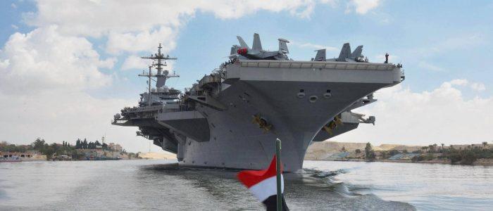 """عودة """"أبراهام لينكولن"""" إلى الخليج توقظ ذكرى الحرب في أذهان العراقيين"""