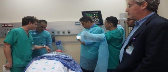 """"""" أطباء من أجل حقوق الإنسان """" تطلق حملة إغاثة طبية لغزة المحاصرة"""