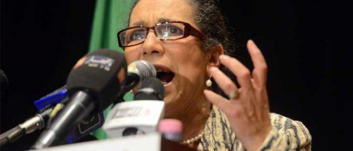 """اتهام الأمينة العامة لحزب العمال الجزائري بـ""""التآمر"""""""