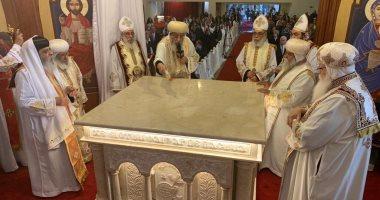 البابا تواضروس: الكنيسة كيان شعبى ملتزم بالخط الوطنى وليست حزبا سياسيا