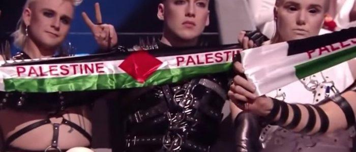 لماذا رفعت الفرقة الأيسلندية الأعلام الفلسطينية في «يوروفيجن»؟