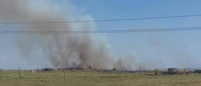 حرائق واسعة بحقول قمح في العراق