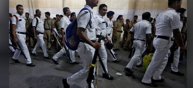 تشديد إجراءات الأمن مع تصويت الناخبين في الهند في المرحلة الأخيرة من الانتخابات العامة
