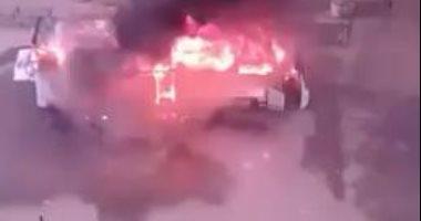 إنفجار سيارة إسعاف فى إسطنبول ومصرع طفل عمره 3 شهور