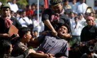 """مواطنو كمبوديا يعيدون تمثيل مجازر """"الخمير الحمر"""" ضدهم يوم الغضب"""