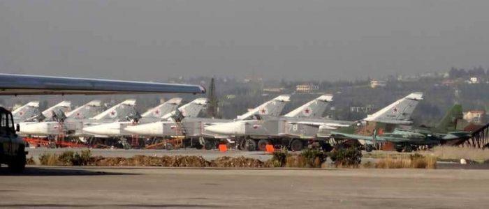 دفاعات حميميم الروسية تتصدى لقذائف صاروخية في سوريا