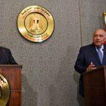 شكري وبومبيو يبحثان تطورات الأوضاع في الخليج وليبيا