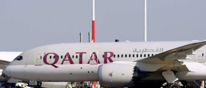 طائرة أميرية قطرية تهبط في مطار جدة لأول مرة منذ اندلاع الأزمة الخليجية