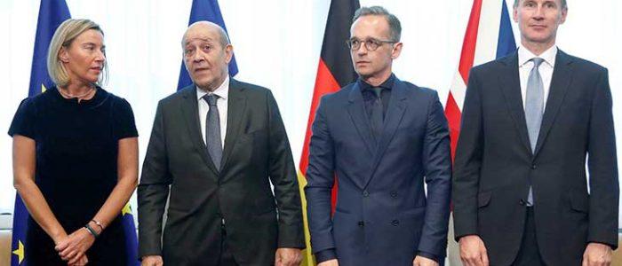 قلق أوروبي من تصعيد أمريكي محتمل ضد إيران
