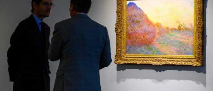 """بيع لوحة لـ""""كلود مونيه"""" بـ110,7 مليون دولار في مزاد بنيويورك"""