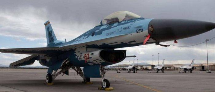 نشطاء الفيسبوك يختارون طلاء الشبح للمقاتلة أف-16