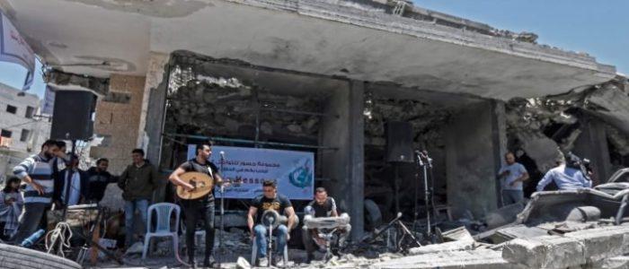 """مهرجان غنائي على أنقاض مبنى دمره الاحتلال مناهض لمسابقة """"يورو فيجن"""" في إسرائيل"""