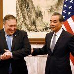 """بومبيو يشن هجوما لاذعا على الصين ويصفها بأنها """"معادية"""" للولايات المتحدة"""