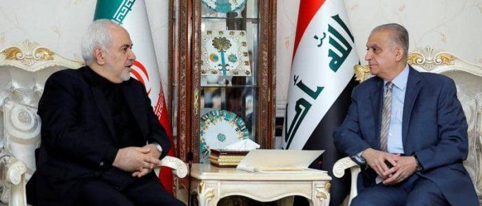 مسؤولون عراقيون يحذرون ظريف من مخاطر الحرب بين طهران وواشنطن