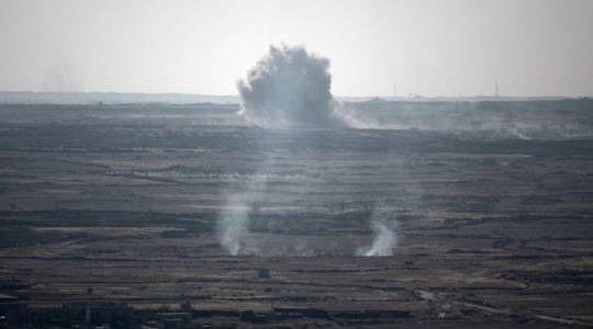 إسرائيل تعلن اعتراض أربعة صواريخ أطلقت من سوريا وسماع دوي انفجارات قرب مطار دمشق