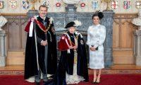 استقبال ملكي عريق تقيمه ملكة بريطانيا لملك إسبانيا