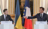 ماكرون: مستعدون للمساهمة في الحوار بين روسيا وأوكرانيا