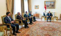 السيسي يؤكد دعم مصر للإمارات في مواجهة التحديدات