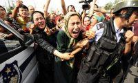 الشرطة الصينية تخطف أسرة مسلمة من السفارة البلجيكية في بكين