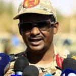 دقلو: أعضاء المجلس العسكرى السودانى ليسوا طلاب سلطة وغير طامعين فى الحكم