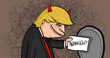 صحيفة مكسيكية تسخر من ترامب وتشبهه بالشيطان