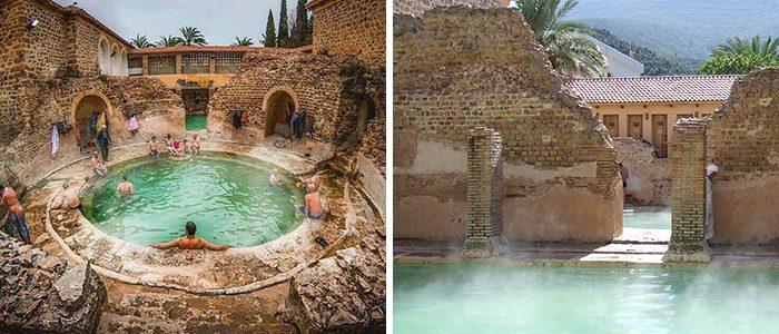700 ألف زائر سنوياً لحمام الصالحين بالجزائر