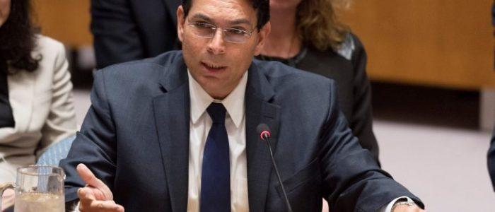 """سفير إسرائيل في الأمم المتحدة: """"ما العيب في أن يستسلم الفلسطينيون؟"""""""