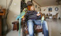 """أفاعٍ وضفادع سامة.. """"حديقة حيوان"""" بمنزل شاب في غزة"""