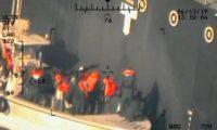 الجيش الأمريكي ينشر صورا جديدة لهجوم ناقلتي النفط بخليج عمان
