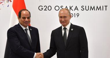بوتين يقدم معاهدة الشراكة الاستراتيجية بين مصر وروسيا لمجلس الدوما للتصديق عليها
