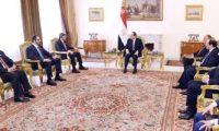 السيسى يؤكد تضامن مصر ودعمها لحكومة وشعب الإمارات والدول الشقيقة