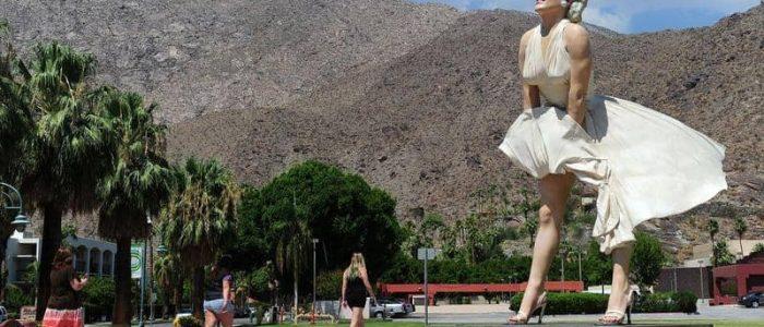 """سرقة تمثال مارلين مونرو من برج """"نساء هوليوود"""""""