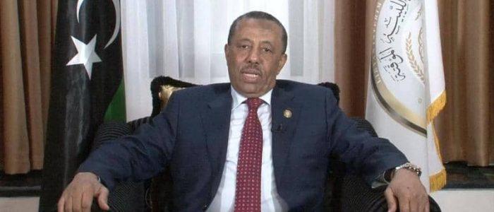 رئيس الحكومة الليبية المؤقتة: مبادرة السراج محاولة يائسة في ظل تقدم الجيش الليبي