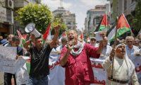إضراب شامل في الأراضي الفلسطينية في 25 من الشهر الجاري تزامنا مع مؤتمر البحرين