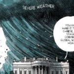 """ترامب يصر على تغيير المناخ خدعة صينية بكاريكاتير لـ""""ذا ويك"""""""