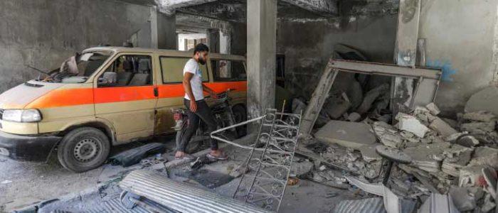 سوريا: أكثر من 400 ضربة استهدفت منطقة إدلب ومحيطها