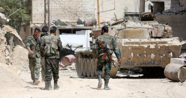 الجيش السورى يدمر آليات ومواقع لإرهابيى فتح الشام بريفى إدلب وحماة