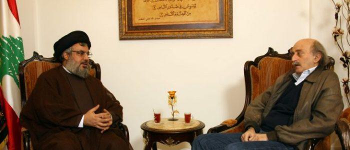 جنبلاط يرد على نصر الله: شو عدا ما بدا رجعتنا لسلاح الغدر وأنا معك في ما خصّ فلسطين فقط