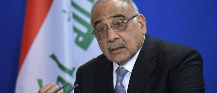 """المهدي يدافع عن الحكومة ويتحدث عن """"المخربين"""" في العراق"""