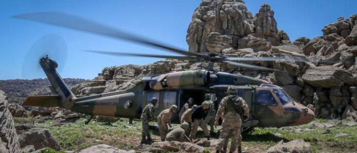 """وزارة الدفاع التركية تعلن تحييد 143 شخصًا من منظمة """"بي كا كا"""" في العراق منذ مايو"""