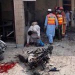تفجير انتحاري في باكستان