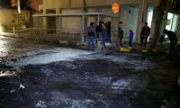 حريق في مقر السفارة الأمريكية بالعاصمة الليبية