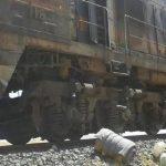 هجوم يستهدف قطار شحن الفوسفات بريف حمص الشرقي