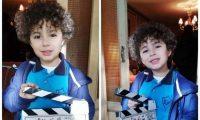 ابن شقيقة أنغام ينهار لدى حضور جدته برفقة الشرطة لتنفيذ حكم حضانته
