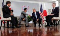 """ترامب يعلن قرب عقد اتفاق تجاري """"كبير"""" بين الولايات المتحدة واليابان"""